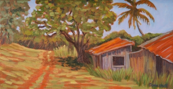 """Down A Country Road 12"""" x 24"""""""
