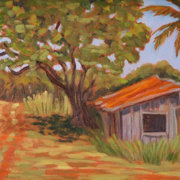 "Down A Country Road 12"" x 24"""